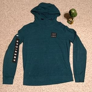 American Eagle pullover hooded shirt